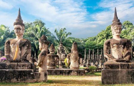 Wat Xieng Khuan Buddha Park, Laos