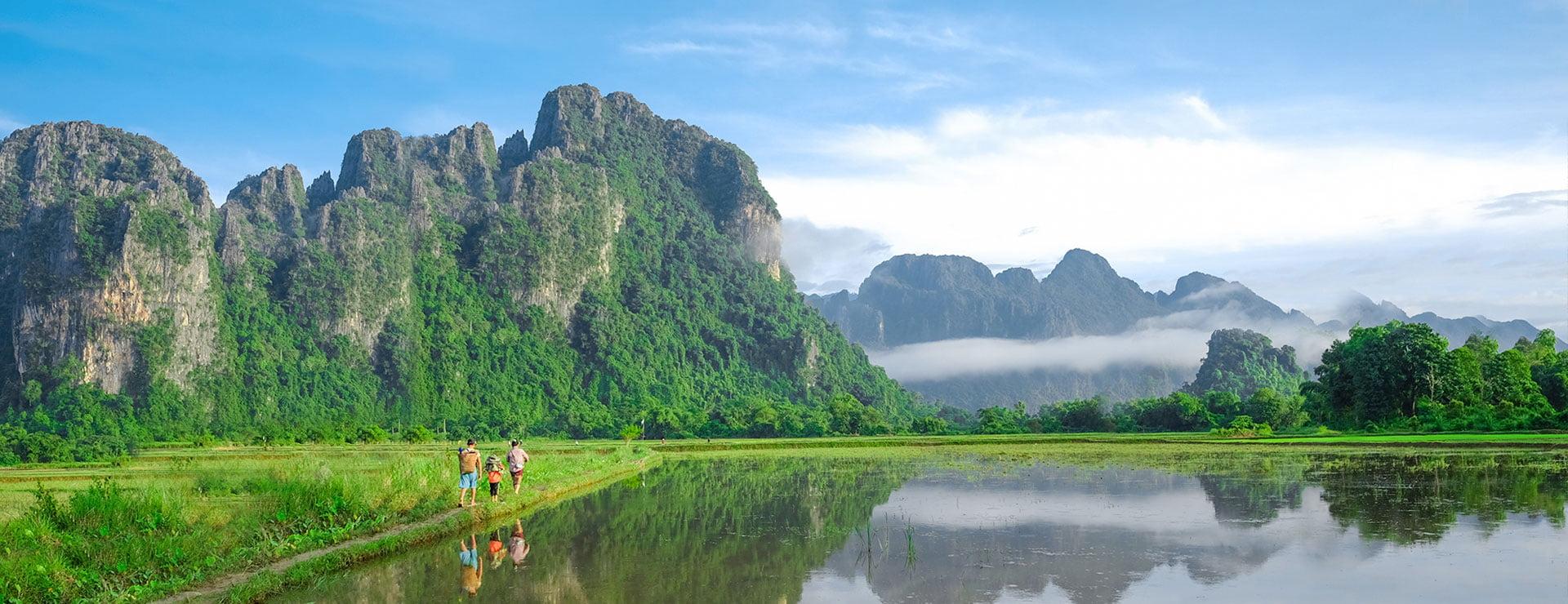 """Laos """"Bajo el radar de viaje"""""""