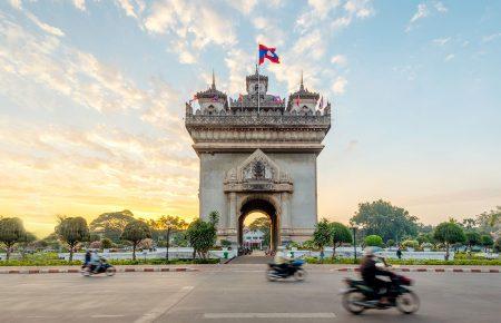 Patuxay monument, Luang Prabang