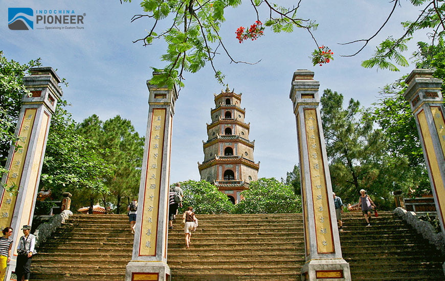 Thien Mu pagoda, Vietnam