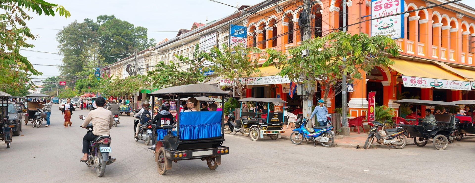 Descubra Siem Reap de Camboya recorriendo todos sus mercados