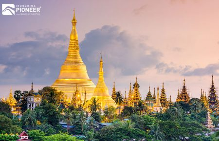 Myanmar Temple & Beach