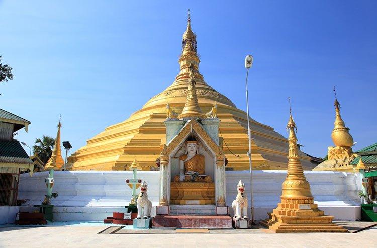 Kyaik Khauk Pagoda, Thanlyin, Thailand