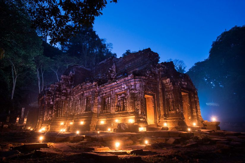 Wat Phou festival, Laos