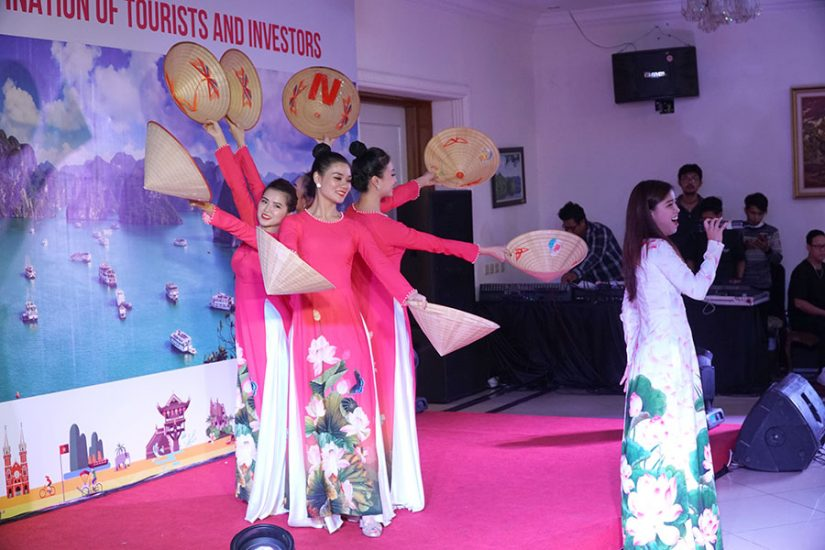 Vietnamese cultural performance