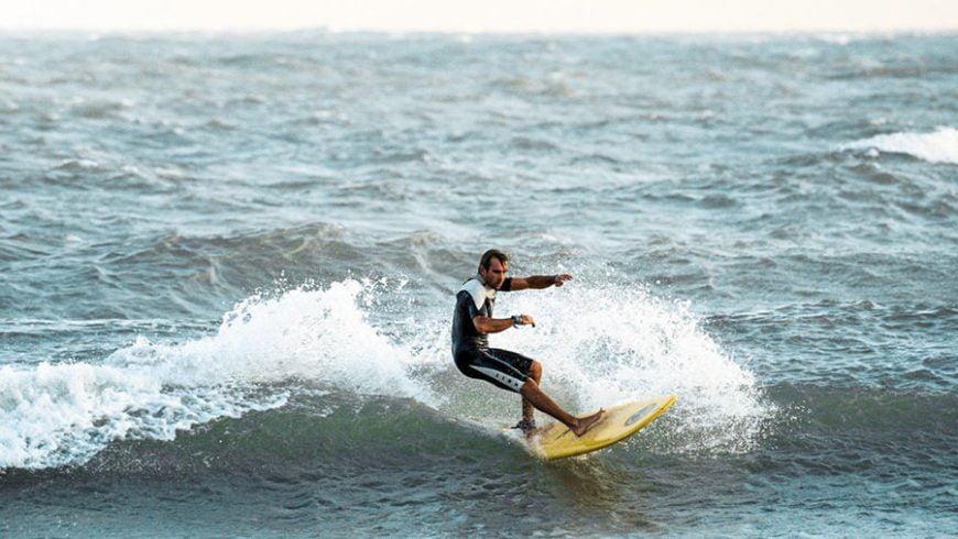 Surfing in Mui Ne, Vietnam