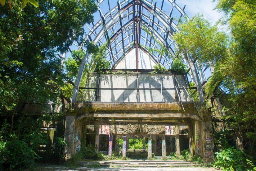 Abandoned park Bali
