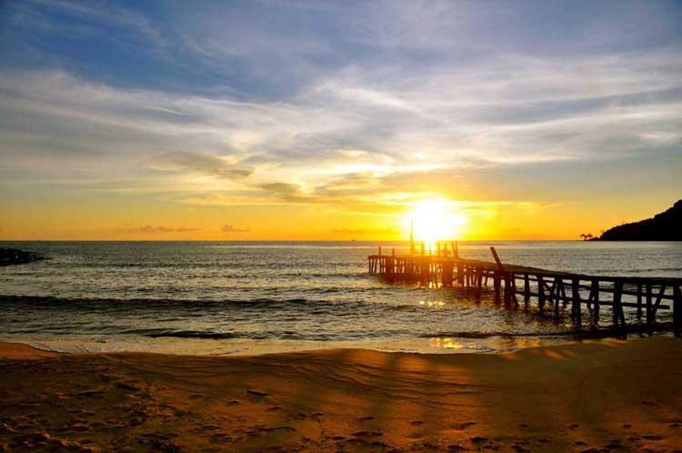 Lazy Beach, Koh Rong Saloem, Cambodia