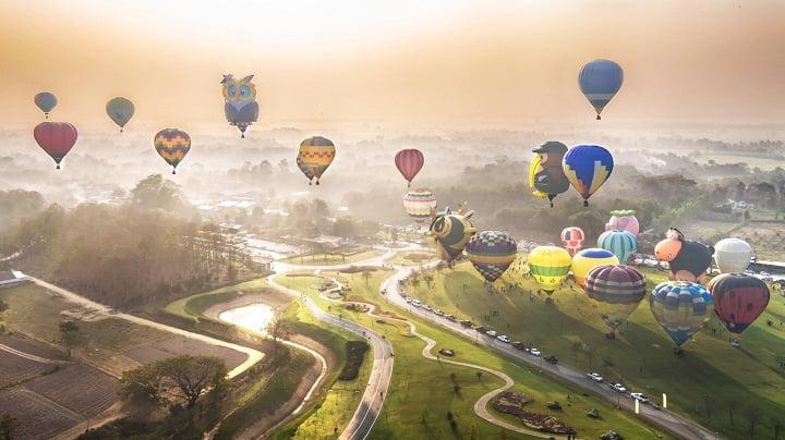 Chiang Mai hot air balloon
