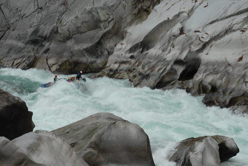 Maykha river