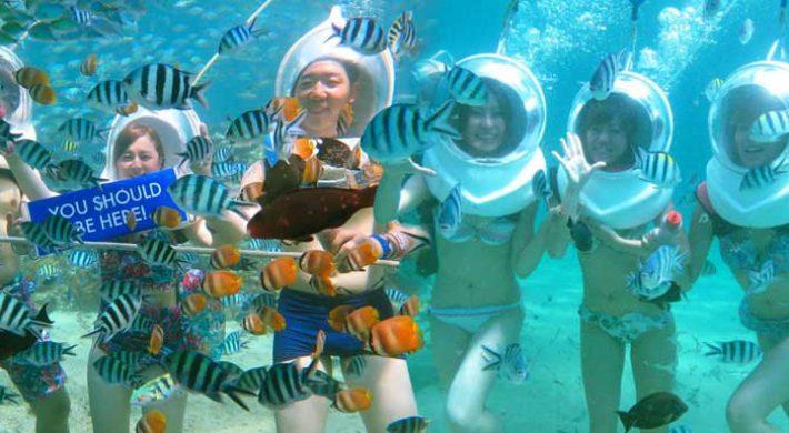 Bali sea walk