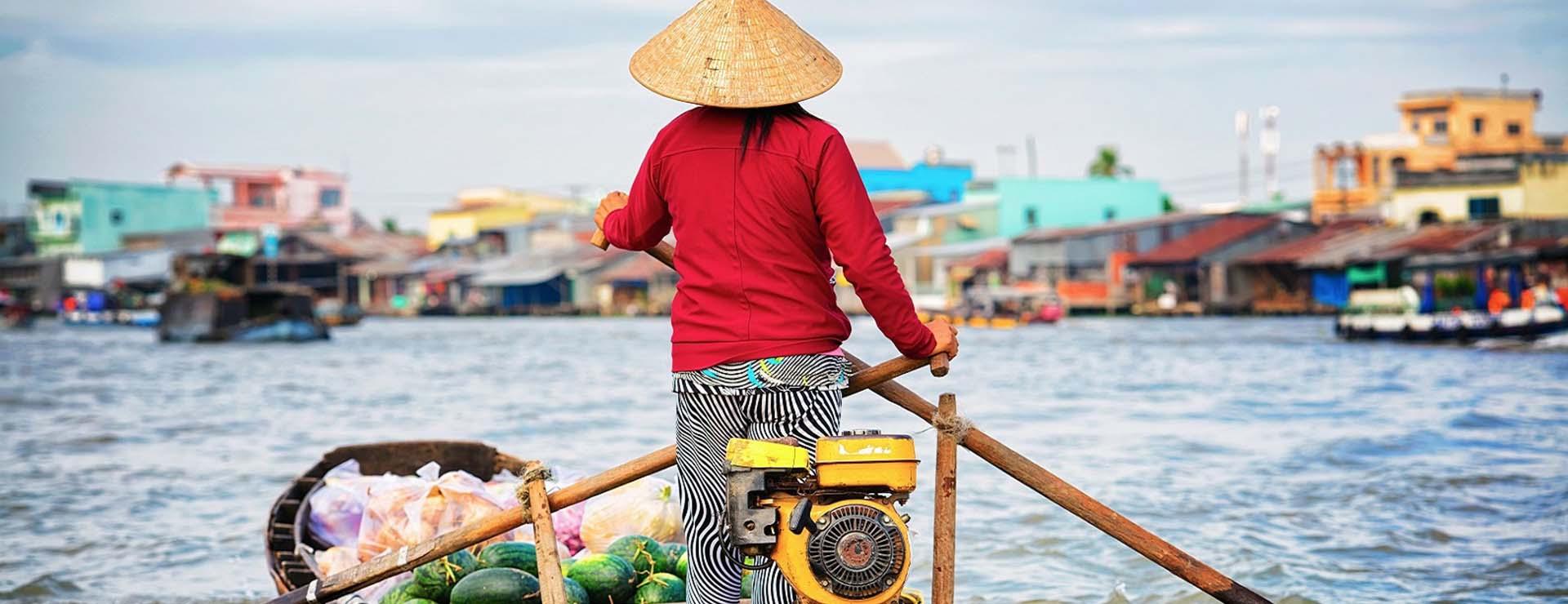 Lo más espectacular del Delta del Mekong de Vietnam