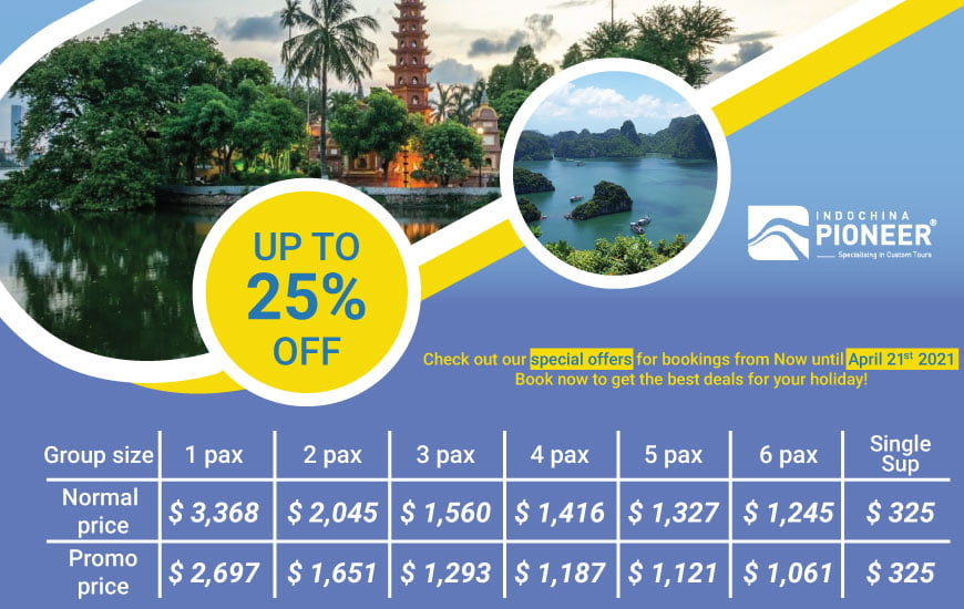 Classic Vietnam Ho Chi Minh city to Hanoi special offers