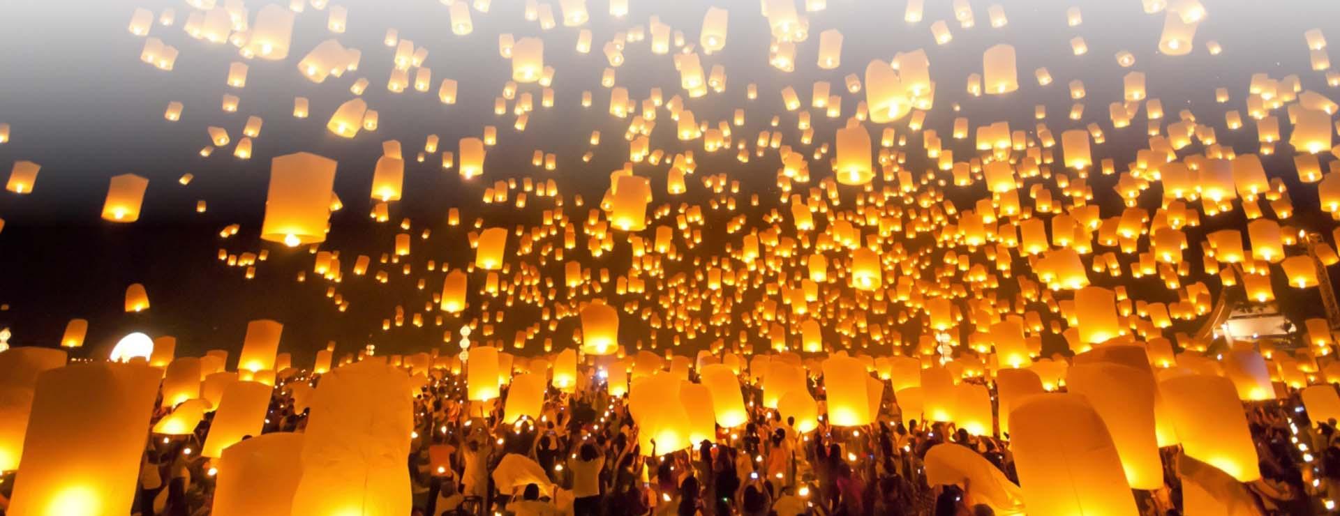 Los 5 festivales imperdibles en Tailandia